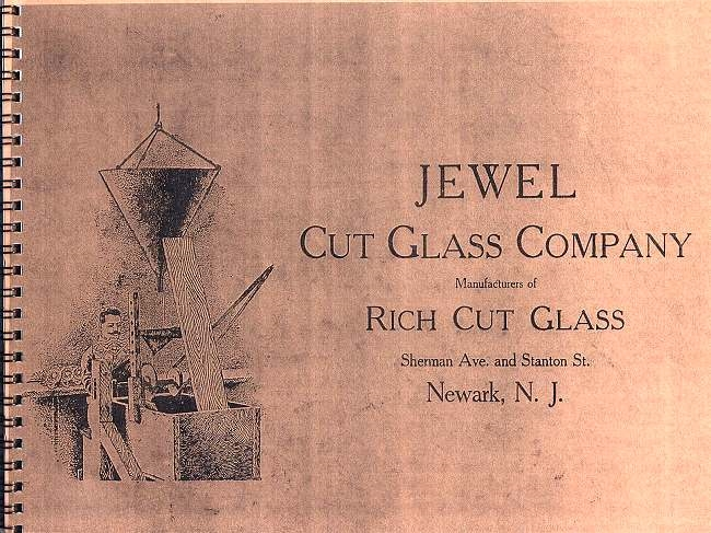 Jewel Cut Glass Co. Catalog - J-001 Image