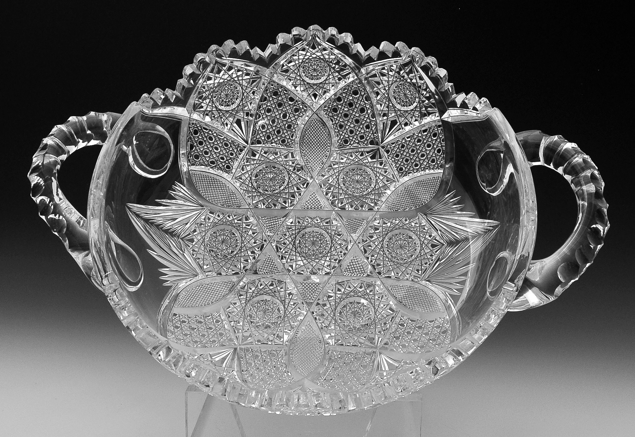 Two-Handled Low Bowl - FSG2878 Image
