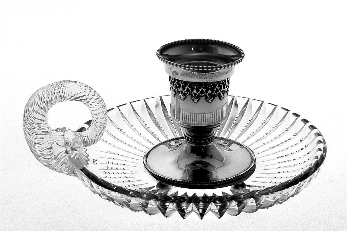 A Chamberstick With Sterling Silver - FSG7122 Image
