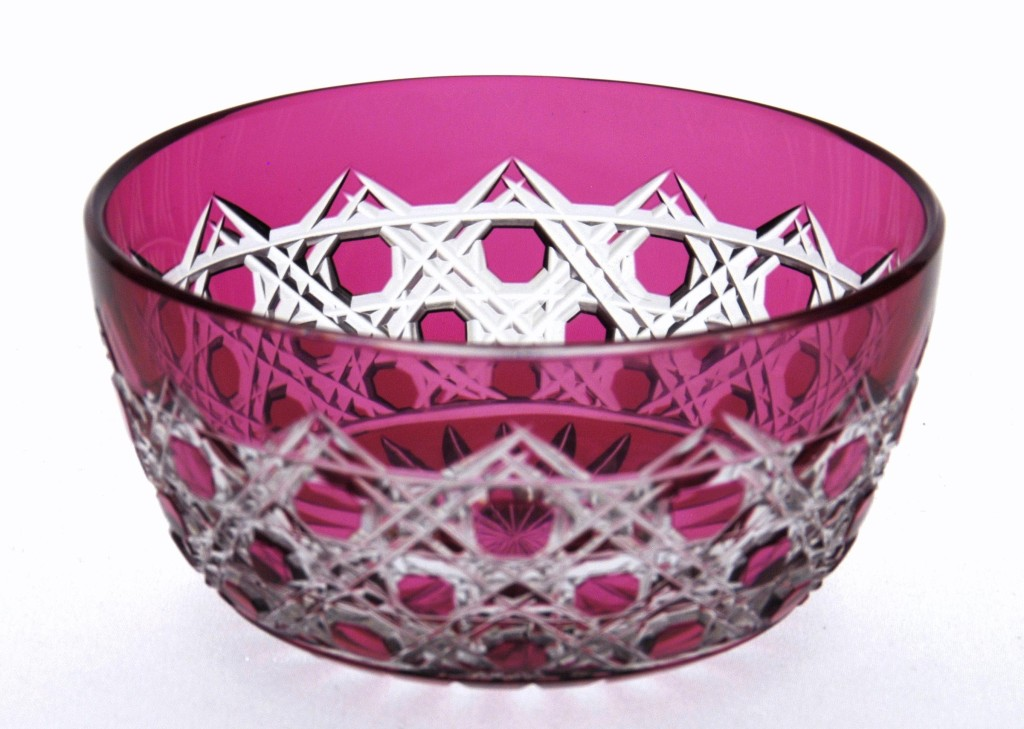 Ruby-to-Clear Finger Bowl - FSG0817 Image