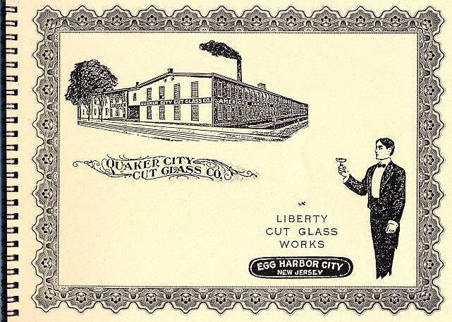 Quaker City/Liberty Cut Glass Catalog - QCL-001 Image