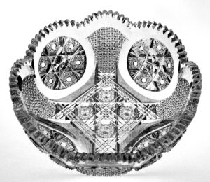 Exceptional, Finely-Cut Brilliant Period Bowl -- FSG0743 Image